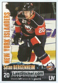 Sean Bergenheim (New York Islanders)