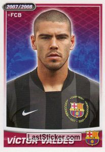 Victor Valdes (portrait) (Players Profile)