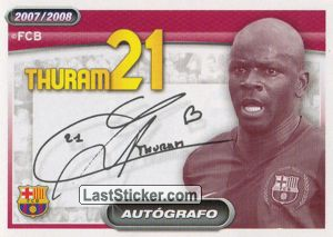 Thuram (autografo) (Players Profile)