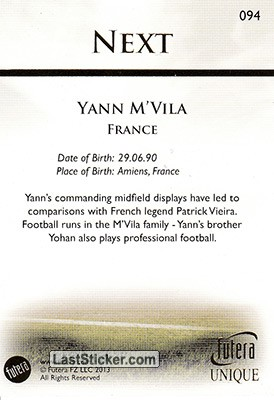 Yann M'Vila (The Next) - Back