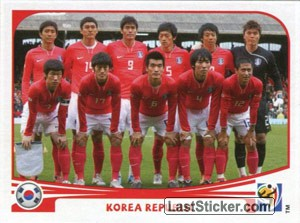 Team Photo (Korea Rebublic)
