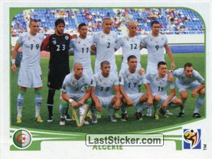Team Photo (Algérie)