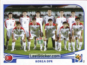 Team Photo (Korea DPR)
