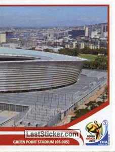 Cape Town - Green Point Stadium (puzzle 2) (Stadiums)