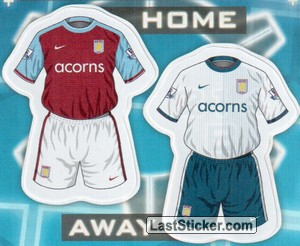 Aston Villa kits (The Kits)