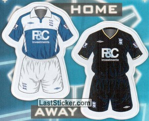 Birmingham City kits (The Kits)