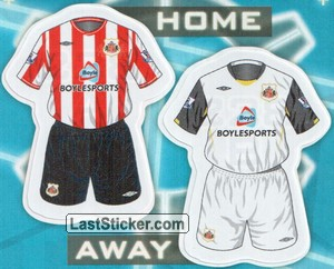 Sunderland kits (The Kits)