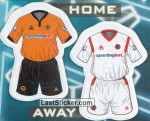 Wolverhampton Wanderers kits (The Kits)