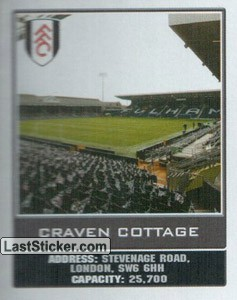 Craven Cottage (The Stadiums)