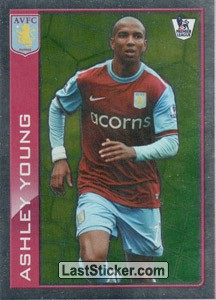 Star player - Ashley Young (Aston Villa)