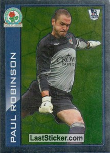 Star player - Paul Robinson (Blackburn Rovers)