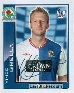 Vince Grella (Blackburn Rovers)