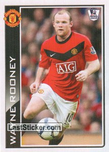 Wayne Rooney photo (Topps 3D Live)