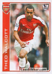 Theo Walcott photo (Topps 3D Live)