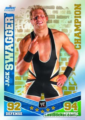 Jack Swagger (Champion Card)