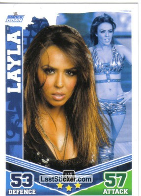 Layla (Smackdown Card)