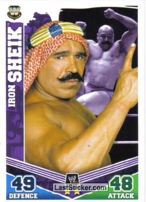 Iron Sheik (Legend Card)