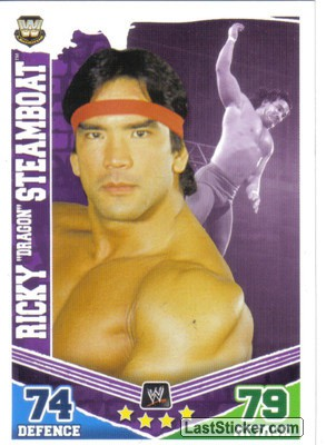 "Ricky ""Dragon"" Steamboat (Legend Card)"