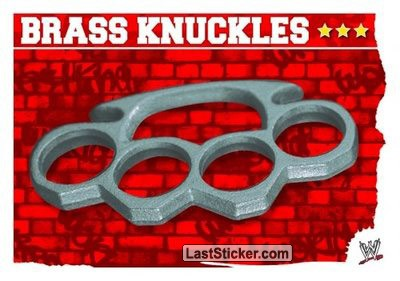 Brass Knuckles (Prop Card)