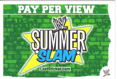 Summer Slam (Pay Per View Card)