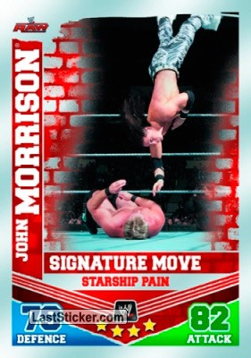 John Morrison - Starship Pain (Signature Move Card)