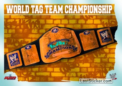 World Tag Team Championship (Title Card)