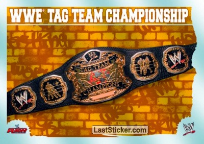 WWE Tag Team Championship (Title Card)