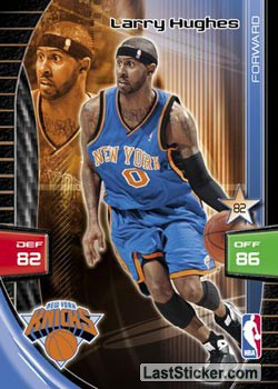 Larry Hughes (New York Knicks)