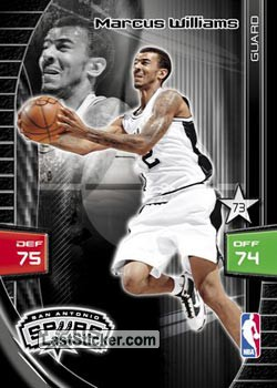 Marcus Williams (San Antonio Spurs)