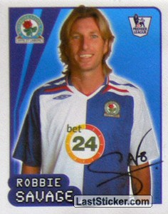 Robbie Savage (Blackburn Rovers)
