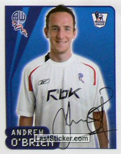 Andrew O'Brien (Bolton Wanderers)