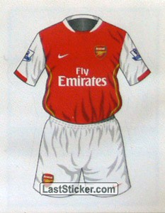 Arsenal home kit (Arsenal)