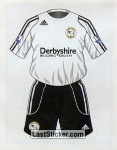 Derby County home kit (Derby County)