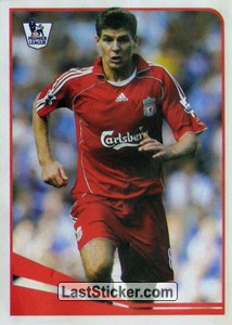 Top midfielder - Steven Gerrard (Sticker Stars)