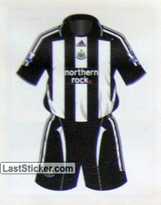Newcastle United home kit (Newcastle United)