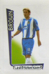 Brown (Wigan Athletic)