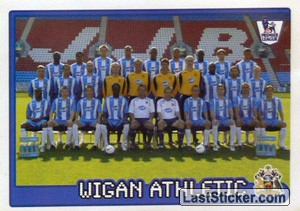 Wigan Athletic team (Wigan Athletic)