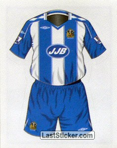 Wigan Athletic home kit (Wigan Athletic)