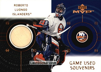 Card Gs Rl Roberto Luongo Upper Deck Mvp Hockey 2000 2001