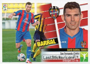 №34 Barral (Levante U.D.) (Ultimos Fichajes)