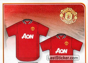 Home kit (puzzle 1) (Manchester United F.C. 2011-2012)