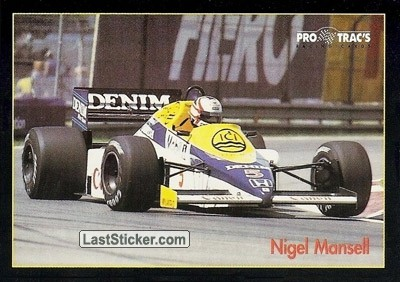 Nigel Mansell (6/11) (Williams Honda Turbo 1985)