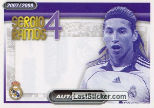 Sergio Ramos (autografo) (Players Profile)