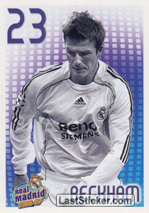 Beckham (monochrome) (Players Profile)