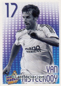 Van Nistelrooy (monochrome) (Players Profile)