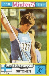 Hannu Siitonen (Track and Field (Javelin Throw))
