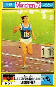 Renate Stecher Meissner (Track and Field (Sprint))