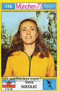 Vera Nikolic (Track and Field (Middle-Distance Running))