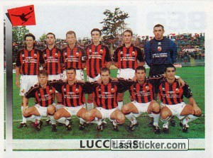 Squadra Lucchese (Serie C1, Girone A)