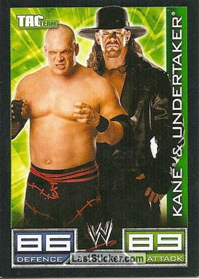 Kane & Undertaker (Tag Team card)